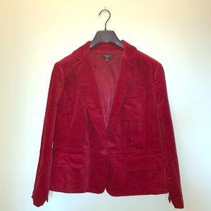 Vibrant Red Talbots Blazer